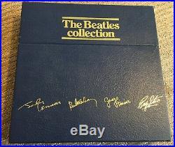 THE BEATLES COLLECTION 13 ALBUM BOX SET blue uk bc 13 rarities white EX VINYL