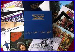 THE BEATLES COLLECTION 14 LP Vinyl Record Blue Box Set UK NM 1978 Original