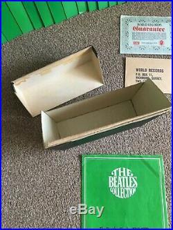 THE BEATLES COLLECTION 1978 WORLD RECORDS SINGLES BOX SET FULL SET 7 Vinyl