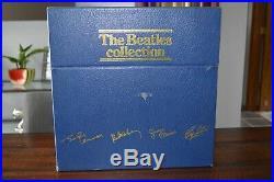THE BEATLES Collection 14-LP Vinyl Box Set UK Press BC-13 STEREO Record Blue Box