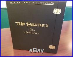 THE BEATLES Collection MFSL Original Master 14-LP Audiophile Box Set Vinyls