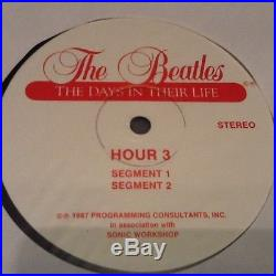 THE BEATLES Days in their lives VINYL 30 hour set 1981 Radio show with POSTER
