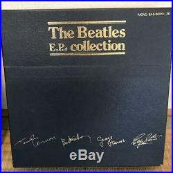 THE BEATLES E. P. Collection Japanese Red Vinyl Mono Box Set EXCELLENT