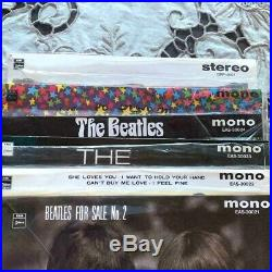 THE BEATLES E. P. Collection Japanese Red Vinyl Mono Box Set From Japan