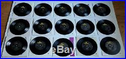 THE BEATLES EP COLLECTION 15 x 7 EP BOXSET VINYL RECORDS BEP14