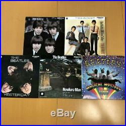 THE BEATLES EP COLLECTION Box 7 Red Vinyl 15 Disc JAPAN EAS-30013-26 near mint