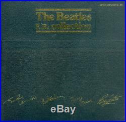 THE BEATLES EP COLLECTION Boxed Set Mono Japan 15 Red Vinyl Discs EAS-30013-26