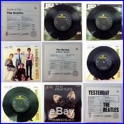THE BEATLES EP Collection 1981 Parlophone BEP14 UK 15x7 Vinyl Box Set RARE