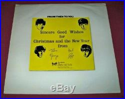 THE BEATLES From Then To You CHRISTMAS 1970 FAN CLUB Vinyl 12 ALBUM Apple, UK