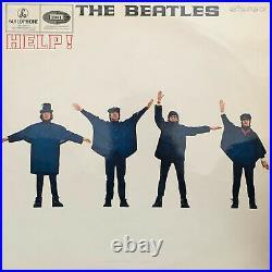 THE BEATLES Help! RARE UK 1969 PRESSING Parlophone 14-track STEREO VINYL LP