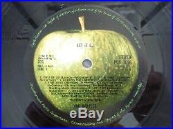 THE BEATLES LET IT BE 1st UK BOX VINYL LP withBOOK RED APPLE 1970 RARE PCS 7096 2U