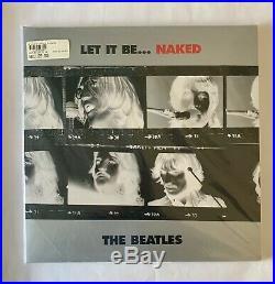 THE BEATLES LET IT BE NAKED 2 VINYL NEW SEALED 2003 UK APPLE Album LP Record