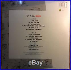 THE BEATLES'LET IT BE NAKED' Vinyl LP + BONUS 7, New, Sealed, OOP