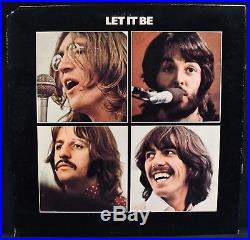 THE BEATLES-LET IT BE-Rare 1st Press Vinyl Album with PD Credit-APPLE #AR 34001
