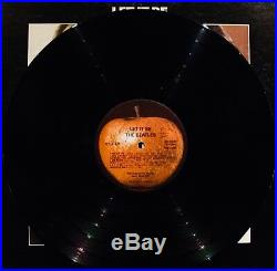 THE BEATLES-LET IT BE-Rare 1st Press Vinyl Album with PD Credit-APPLE #AR 34001