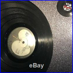 THE BEATLES LET IT BE Rare Red Apple Vinyl LP PCS7096 VG+/VG+