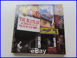 THE BEATLES LIVE AT THE STAR CLUB BOX SET COMPLETE 5 VINYL LP's 4 CD's 1 DVD
