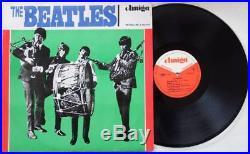 THE BEATLES LP Vinyl AMIGA Trommelcover 1965 Original SUPER RARE