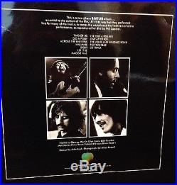 THE BEATLES Let It Be UK IMPORT Apple PCS 7096 WHITE VINYL LP Limited Press