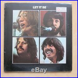 THE BEATLES Let It Be USA 1st press Vinyl LP Red Apple SEALED