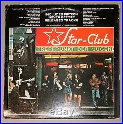 THE BEATLES Live! At the Star-Club, Hamburg Germany 1962 RED VINYL PROMO LP 1977