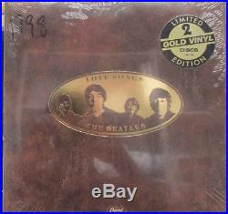THE BEATLES. Love Songs. Factory Sealed Gold Vinyl. Capitol Canada SEBX-11844