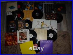 THE BEATLES & McCARTNEY ETC HUGE COLLECTION OF LP'S/12 VINYL RECORDS