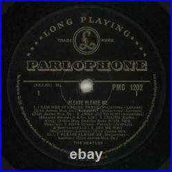 THE BEATLES Please Please Me Rare 1963 UK FIRST PRESSING Gold label vinyl LP