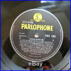 THE BEATLES Please Please Me UK 5th pressing mono vinyl LP Parlophone Ex+