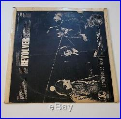 THE BEATLES REVOLVER LP VINYL Rare UK Mono 1st Press Original Withdrawn Mix 11