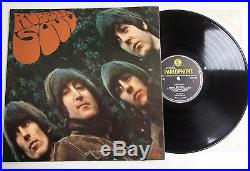THE BEATLES RUBBER SOUL LP MONO VINYL Rare 1965 UK 1st Press 1/1 Loud Cut Album