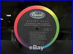 THE BEATLES-RUBBER SOUL-MONO-PROMO-VINYL 4.0 COVER 4.0 PROMO in corner