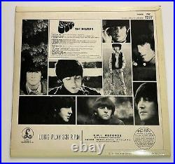 THE BEATLES RUBBER SOUL UK 1ST PRESS Mono VINYL & COVER EX++ Overall rating 9/10