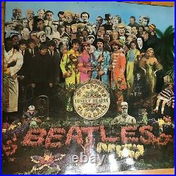THE BEATLES SGT PEPPERS LONELY HEARTS CLUB BAND VINYL 1st PRESSING MONO LP 1967