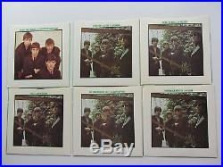 THE BEATLES SINGLES COLLECTION BOX 24 x 45s 1976 UK VINYLS NEAR MINT