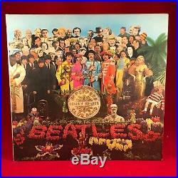 THE BEATLES Sgt Pepper Original 1967 UK Vinyl LP 1st Pressing STEREO EXCELLENT