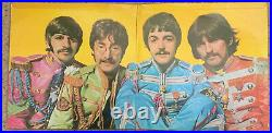 THE BEATLES Sgt. Pepper's Lonely Hearts Club BandRare 1969 UK vinyl LP pressing