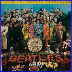 THE BEATLES Sgt Peppers Lonely Hearts Club MFSL 1-100 Audiophile OG LP NM Vinyl
