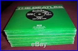 THE BEATLES Singles Collection 24 x 7 VINYL + Insert & Promo Flexi BOX SET