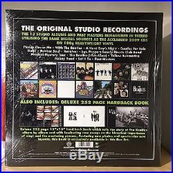 THE BEATLES Stereo Box Set Vinyl, Nov-2012, 16 Discs, & HARD COVER BOOK EMI