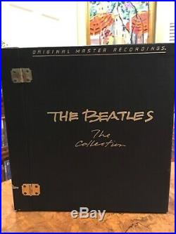 THE BEATLES THE COLLECTION 14 LP BOX MFSL NUMBERED AUDIOPHILE Vinyl NM/M