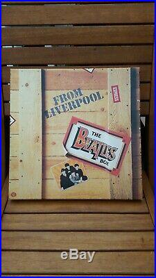 THE BEATLES The Beatles From Liverpool 8 X Vinyl LP Box Set + promo 7 single