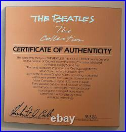 THE BEATLES The Collection / MFSL 1982 14 LPs, Booklet, Geo Disc, NM+ Vinyl