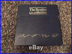 THE BEATLES The E. P. Collection UK Original BEP-14 Blue Box Set All Vinyls NM