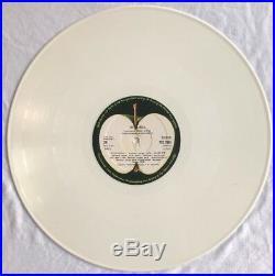 THE BEATLES -Ultra Rare White Vinyl UK Export Double Album (Vinyl Record)