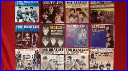 THE BEATLES VINYL 45's (LOT OF12)