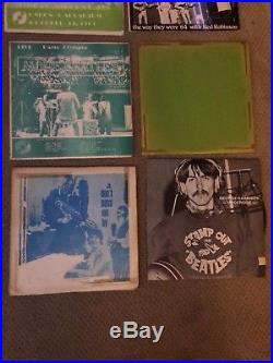 THE BEATLES VINYL RECORDS UNOFFICIAL VERY RARE Bootleg Lot