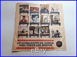 THE BEATLES Vol. 3 Musart 1964 Unique and Nice PS 12 vinyl LP Mexico ULTRA RARE