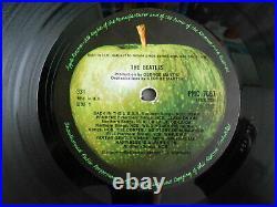 THE BEATLES WHITE ALBUM 1st PRESS UK 0009189 MONO COMPLETE