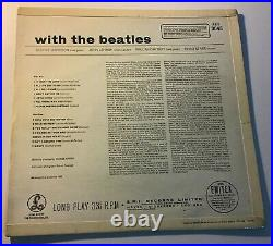 THE BEATLES WITH THE BEATLES 1st UK VINYL NR MINT BRILLIANT COVER NR MINT/EX+